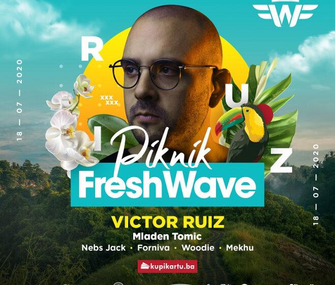 Victor Ruiz na Fresh Wave Pikniku 18. jula!