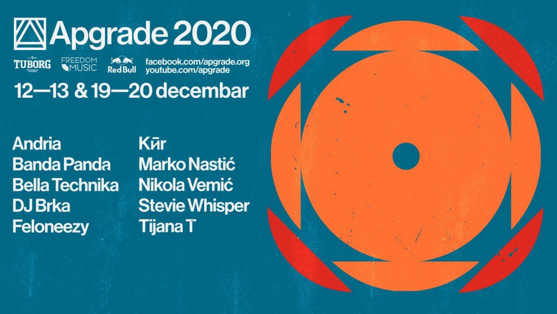 Apgrade 2020: Onlajn festival elektronske muzike sa krovova silosa i obale Dunava u vaš dom!