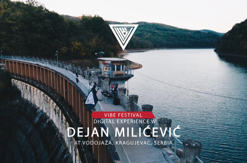 Prvi nastup VIBE-a 2020 uz Dejana Milićevića na bajkovitoj Vodojaži!
