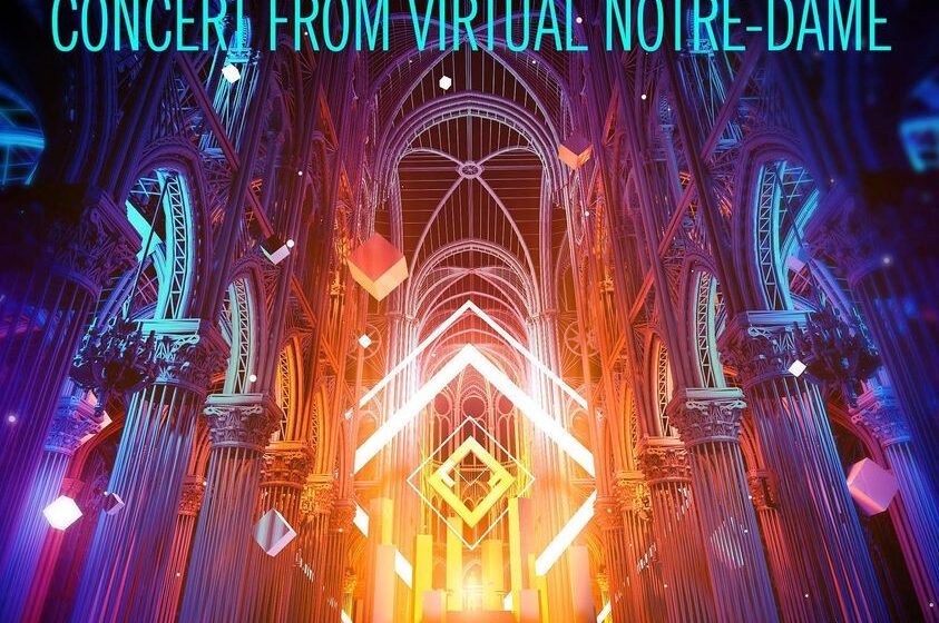 Jean-Michel Jarre u virtuelnoj stvarnosti iz katedrale Notre-Dame u Parizu!
