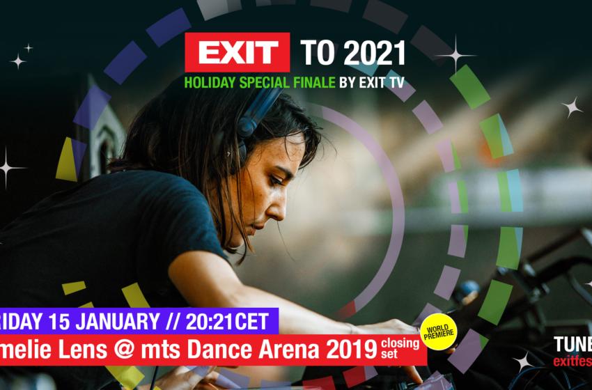 Svetske premijere nastupa tehno kraljica Nine Kraviz i Amelie Lens 14. i 15. januara na EXIT TV!