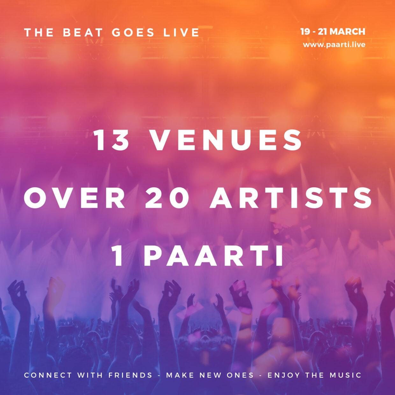 THE BEAT GOES LIVE! 48 sati vrhunske muzike u klubovima širom sveta! Veliki humanitarni stream!