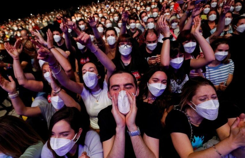 Bez znakova infekcije korona virusom nakon 14 dana od velikog testnog koncerta u Barseloni!