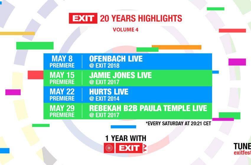 Dva meseca pred EXIT stižu premijere nastupa koji su obeležili festival: Hurts, Jamie Jones kao i b2b Rebekah i Paula Temple!