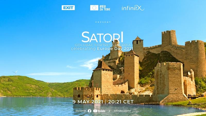Delegacija EU u Srbiji i EXIT donose koncertni film Satorija sa Golubačke tvrđave premijerno na FEST, a odmah zatim i kroz globalni prenos!