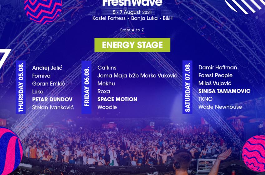 Predstavljamo Energy Stage na devetom Fresh Wave Festivalu!