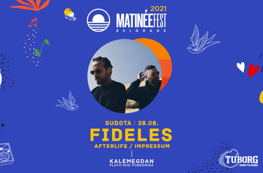 Zvezde Afterlife-a Fideles u Beogradu na Matinée Festu!