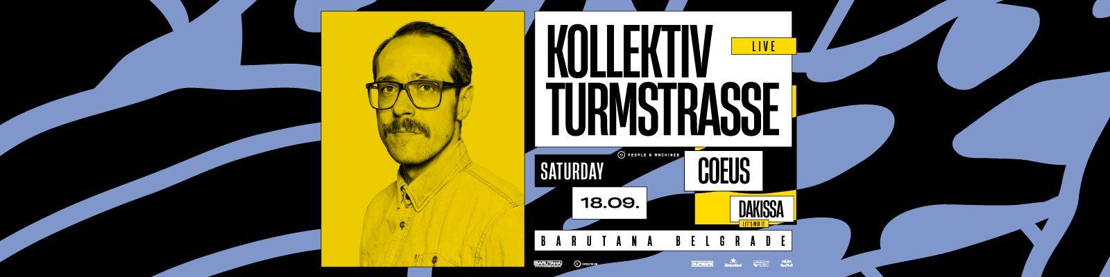Lajv izvođenje Kollektiva Turmstrasse iz Nemačke, večeras u Barutani!