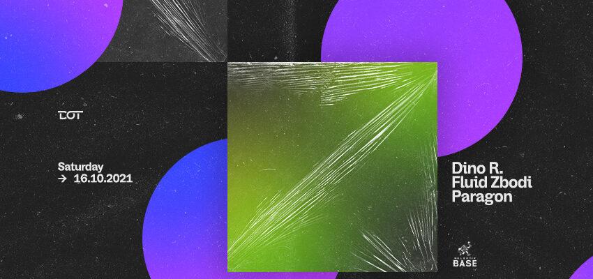 Ove subote u DOT-u, trio Dino R. – Fluid Zbodi – Paragon preseca jesenju monotoniju!