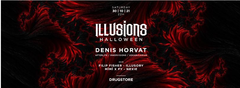 ILLUSIONS – Denis Horvat u beogradskom Drugstore-u za Helloween!