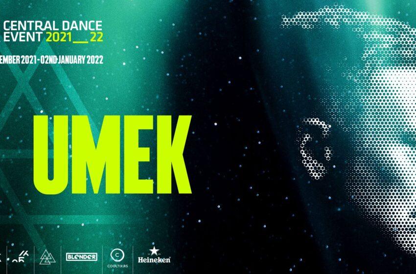 Balkanska ikona tehna Umek pridružuje se Central Dance Event ekipi!