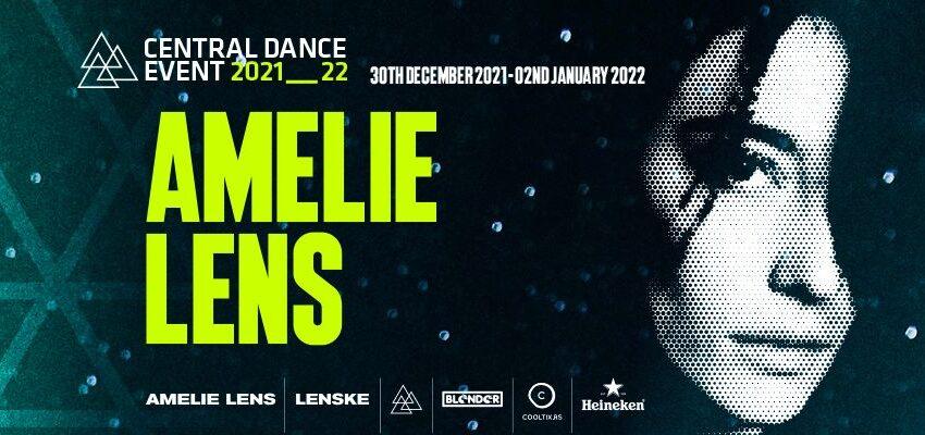 Tehno heroina Amelie Lens pridružuje se hedlajnerima Central Dance Eventa!